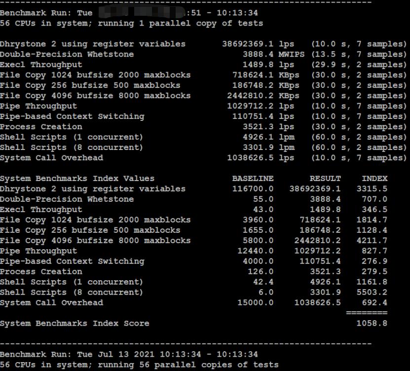 RAKsmart高配美国服务器跑分测试